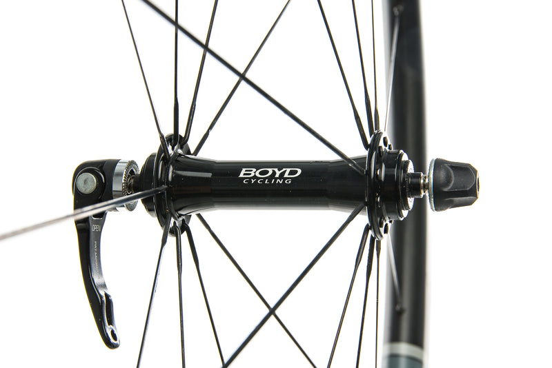 Boyd 44mm Carbon Tubular 700c Wheelset sticker