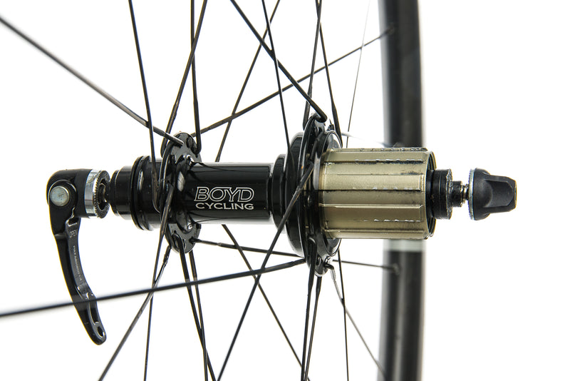 Boyd 44mm Carbon Tubular 700c Wheelset drivetrain