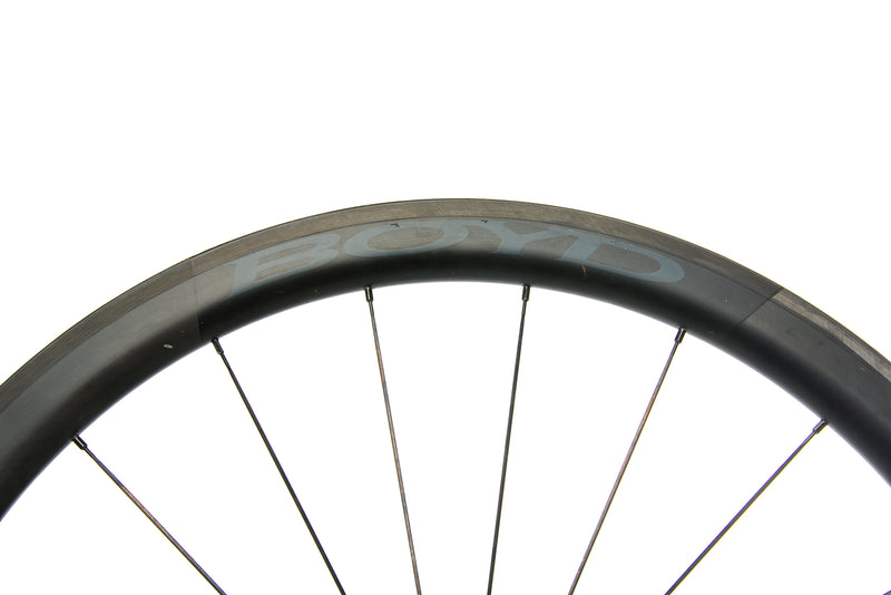 Boyd 44mm Carbon Tubular 700c Wheelset front wheel