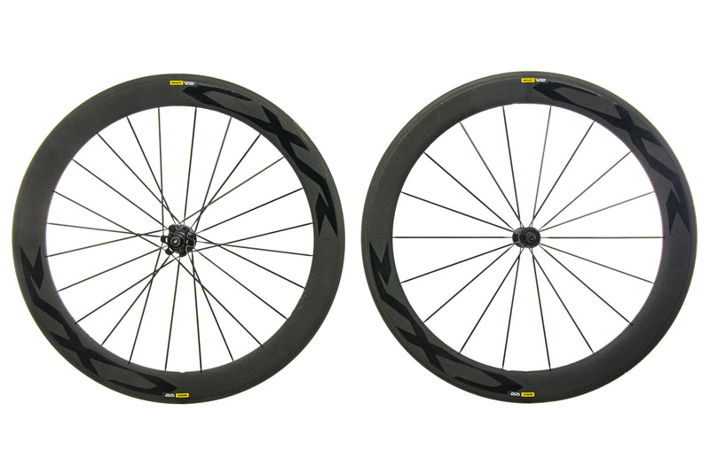 Mavic CXR Elite Exalith Alloy Clincher 700c Wheelset drive side