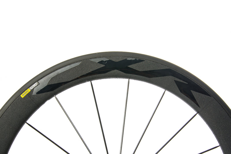 Mavic CXR Elite Exalith Alloy Clincher 700c Wheelset cockpit