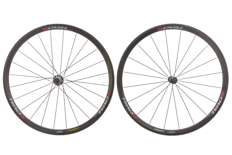 Oval Concepts 932 Carbon Tubular 700c Wheelset drive side