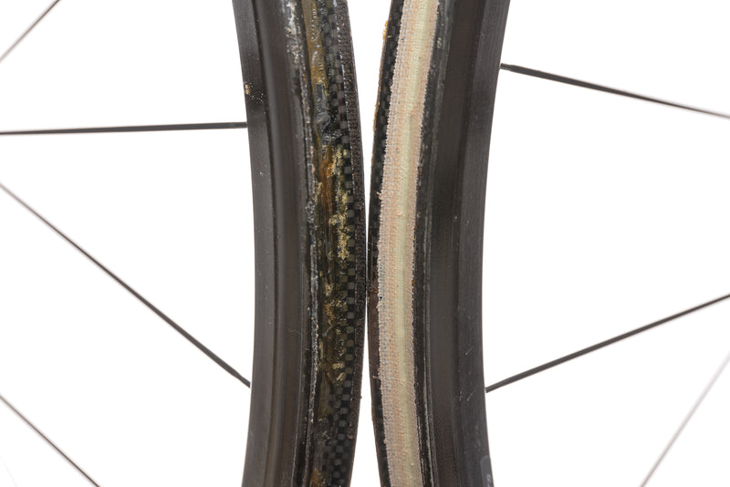 Oval Concepts 932 Carbon Tubular 700c Wheelset front wheel