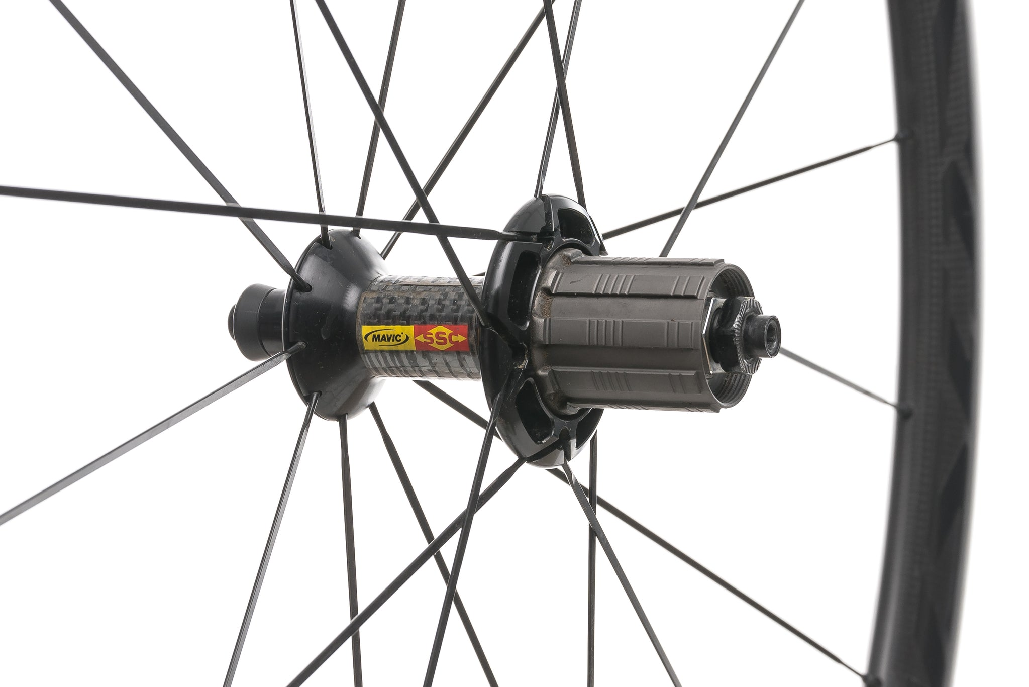 Mavic Cosmic Carbone 40 Carbon Tubular 700c Wheelset