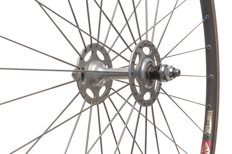 Mavic GP 4 / Dura-Ace HB-7020 10mm Aluminum Tubular Track Wheelset non-drive side