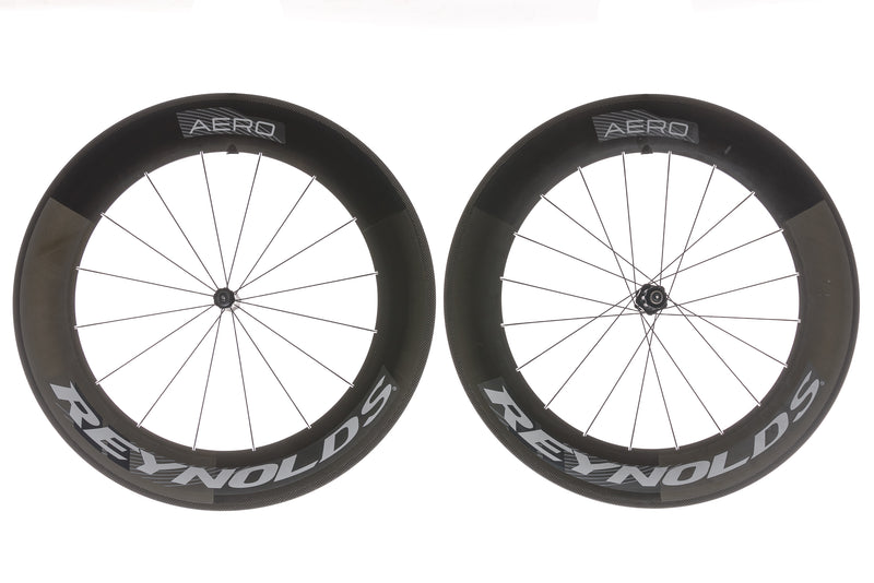 Reynolds 90 Aero Carbon Clincher 700c Wheelset non-drive side