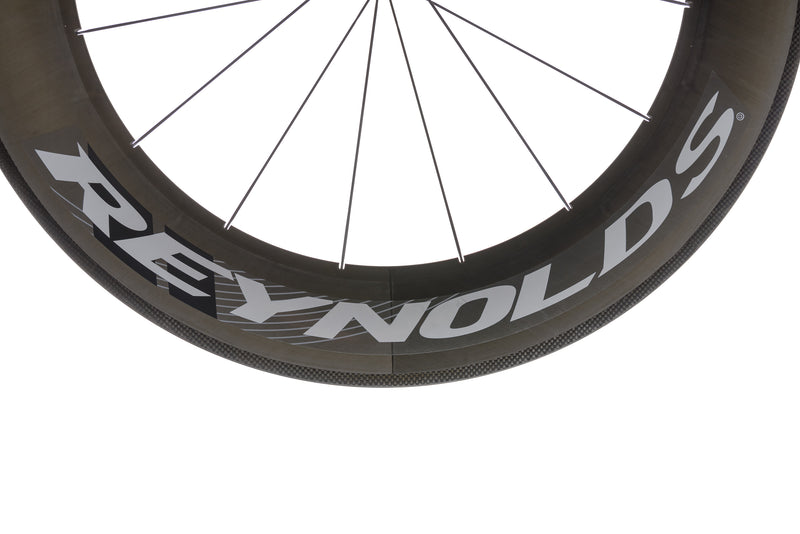 Reynolds 90 Aero Carbon Clincher 700c Wheelset cockpit