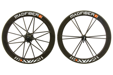 Mad Fiber Carbon Tubular 700c Wheelset