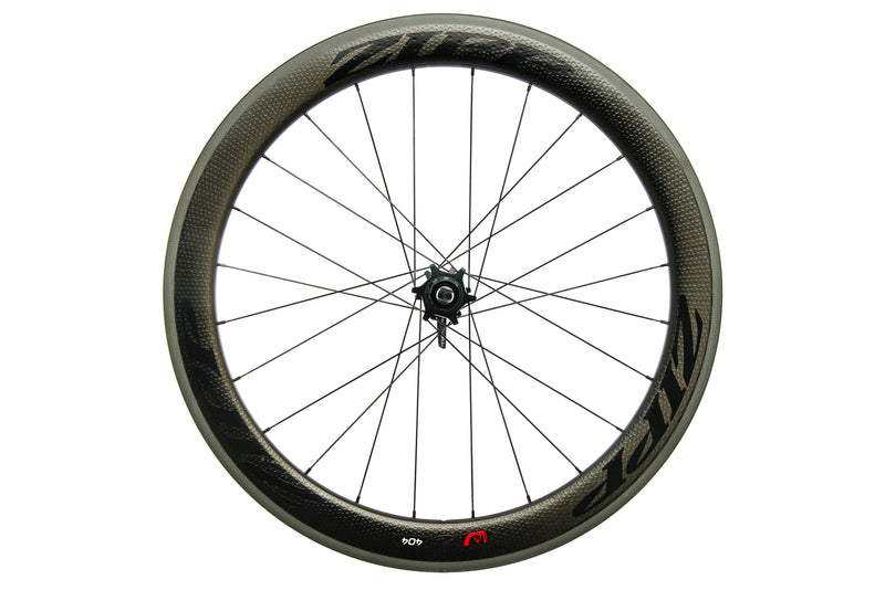 Zipp 404 Firecrest Cartbon Clincher 700c Rear Wheel non-drive side