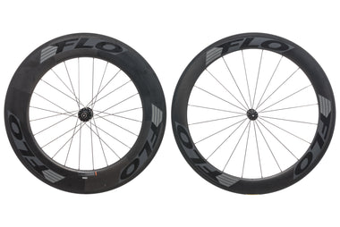 FLO 60 Front 90 Rear Carbon Clincher 700c Wheelset