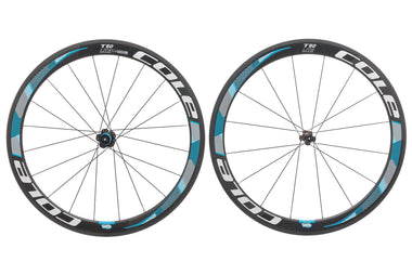Cole T50 Lite Carbon Tubular 700c Wheelset