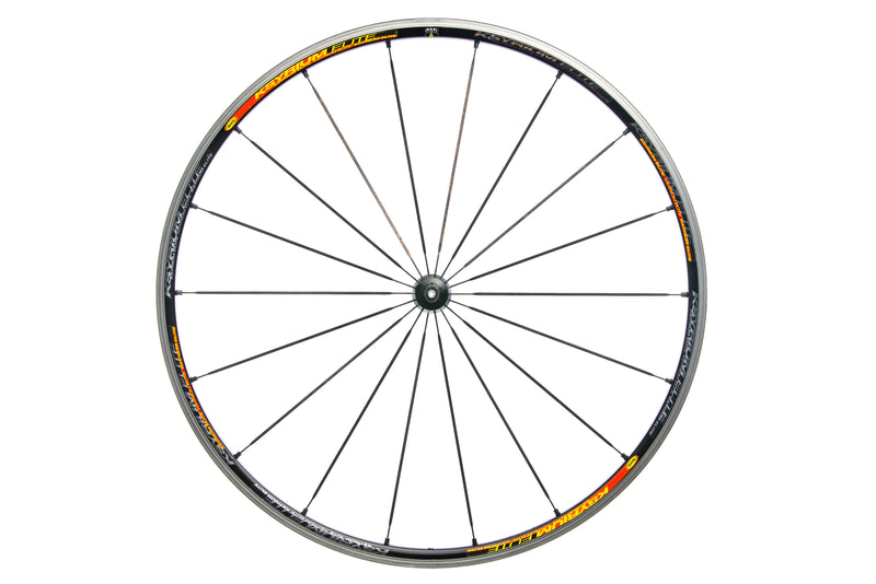 Mavic Ksyrium Elite Aluminum Clincher 700c Front Wheel non-drive side