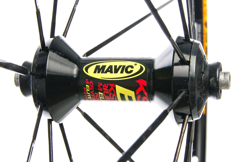 Mavic Ksyrium Elite Aluminum Clincher 700c Front Wheel sticker