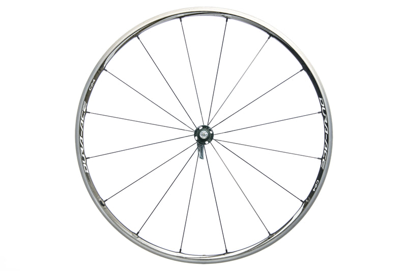 Shimano Dura-Ace WH-9000-C24-CL Road Bike Front Wheel Carbon/Alloy Clincher drive side