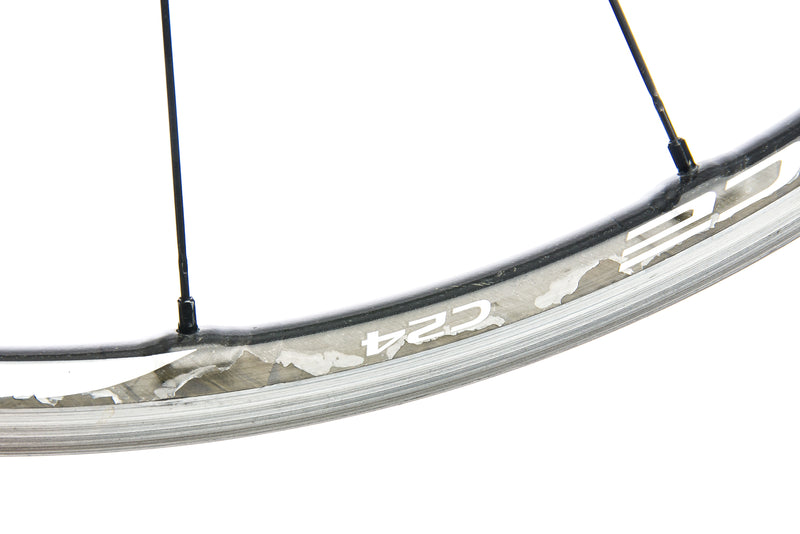 Shimano Dura-Ace WH-9000-C24-CL Road Bike Front Wheel Carbon/Alloy Clincher detail 2