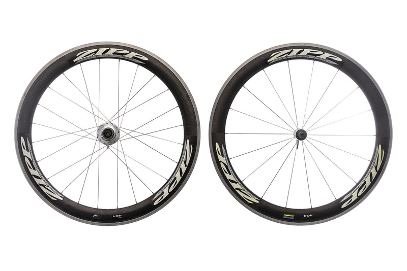 Zipp 404 CycleOps Powertap SL+ Carbon Aluminum Clincher 700c Wheelset drive side