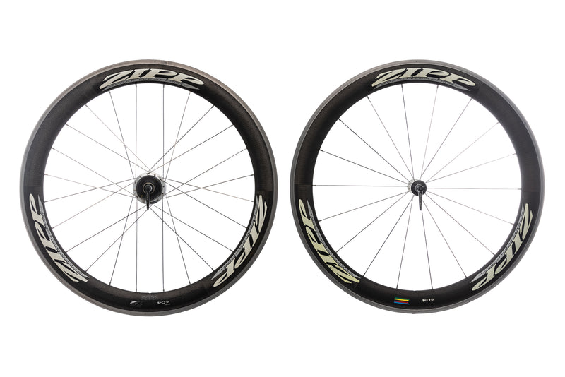Zipp 404 CycleOps Powertap SL+ Carbon Aluminum Clincher 700c Wheelset non-drive side