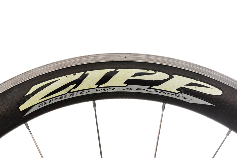 Zipp 404 CycleOps Powertap SL+ Carbon Aluminum Clincher 700c Wheelset detail 1