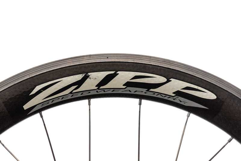 Zipp 404 CycleOps Powertap SL+ Carbon Aluminum Clincher 700c Wheelset detail 3