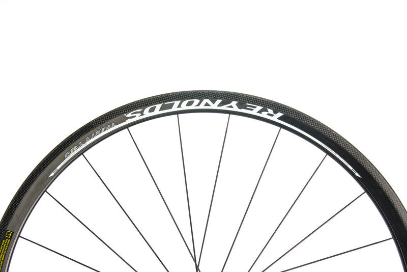 Reynolds Thirty Two Carbon Tubular 700c Rear Wheel front wheel