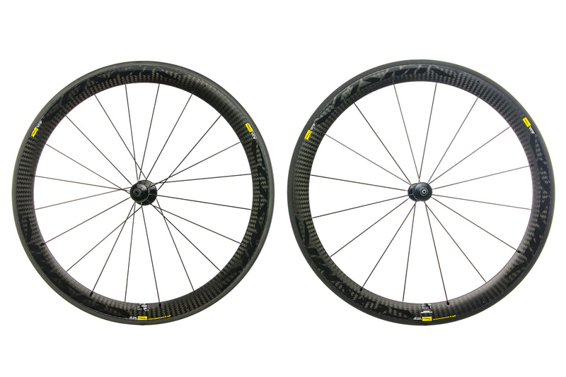 Mavic Cosmic Carbone SLE Exalith Carbon Clincher 700c Wheelset non-drive side