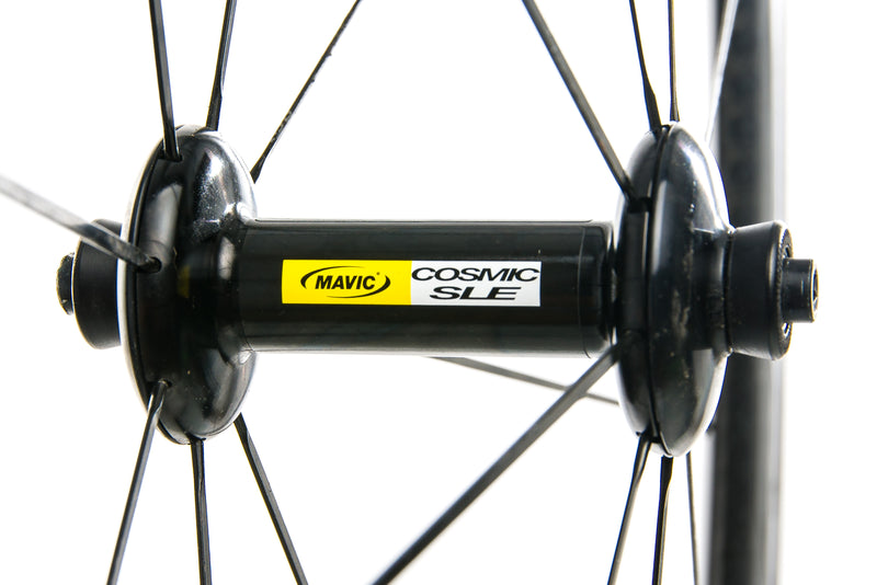 Mavic Cosmic Carbone SLE Exalith Carbon Clincher 700c Wheelset sticker