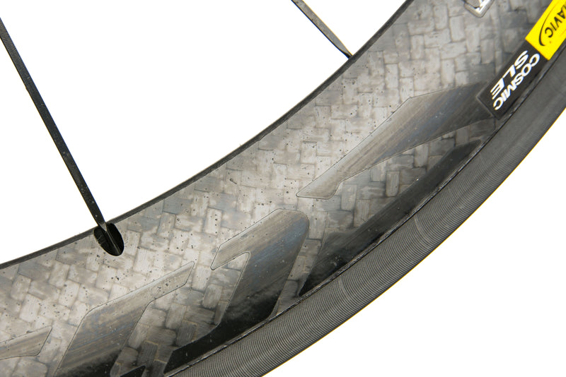 Mavic Cosmic Carbone SLE Exalith Carbon Clincher 700c Wheelset detail 2