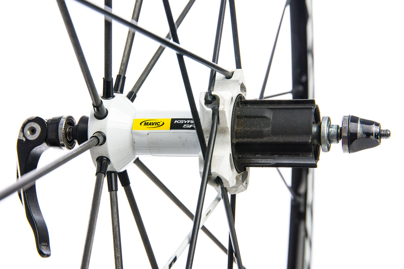 Mavic Ksyrium SR Aluminum Clincher 700c Rear Wheel sticker