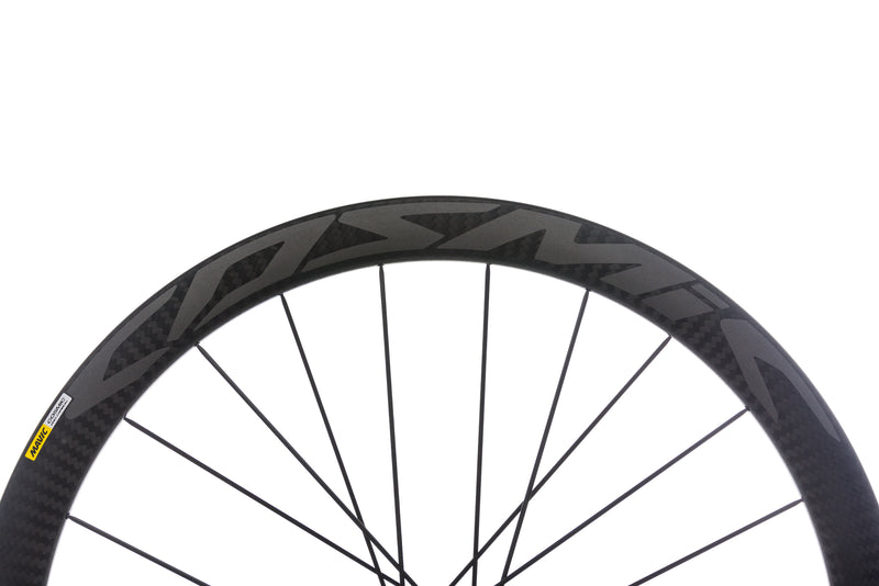 Mavic Cosmic Pro Carbon Disc Carbon Clincher 700c Wheelset cockpit