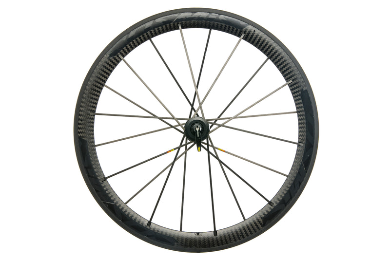 Mavic Cosmic Carbone SLR Carbon Clincher 700c Front Wheel non-drive side