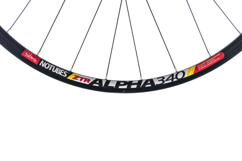 Stan's NoTubes ZTR Alpha 340 Alloy Tubeless 700c Rear Wheel drivetrain