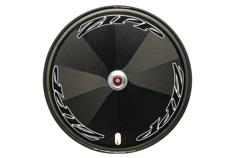 Zipp Super-9 Disc PowerTap SL+ Carbon Tubular 700c drive side