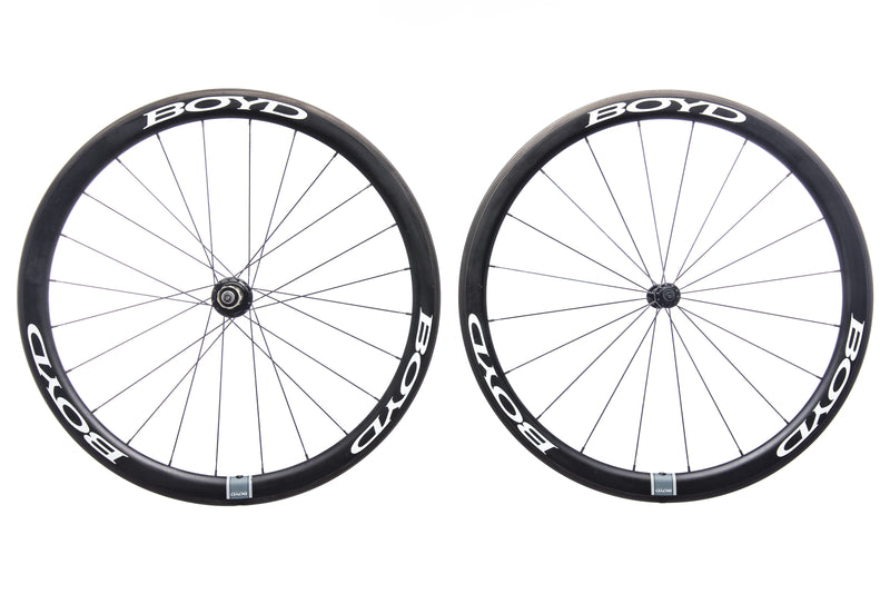 Boyd 44mm Carbon Clincher 700c Wheelset drive side