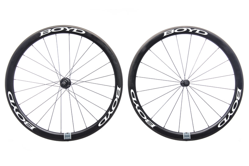 Boyd 44mm Carbon Clincher 700c Wheelset non-drive side