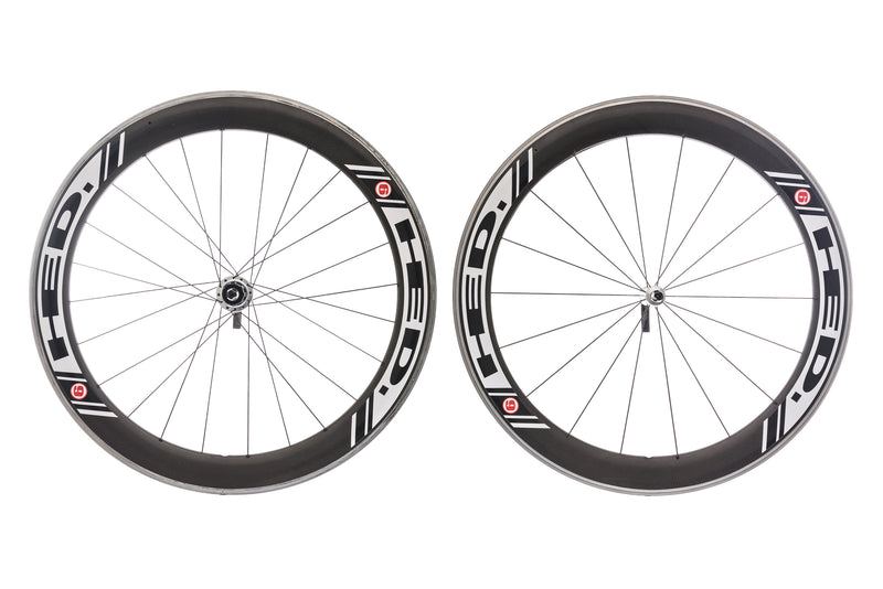 HED Jet 6 Carbon Clincher 700c Wheelset drive side