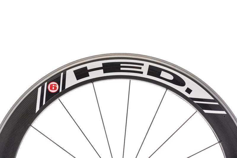 HED Jet 6 Carbon Clincher 700c Wheelset cockpit