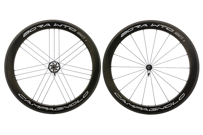 Campagnolo Bora WTO 60 Carbon Clincher 700c Wheelset drive side