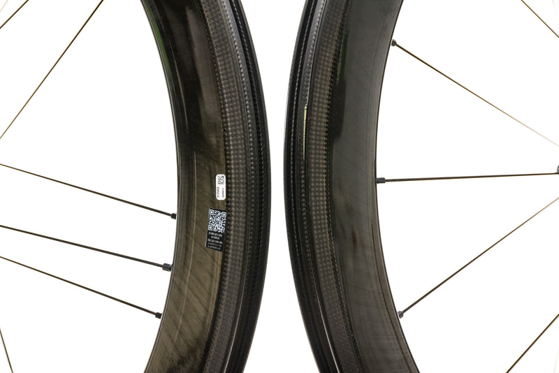 Campagnolo Bora WTO 60 Carbon Clincher 700c Wheelset front wheel