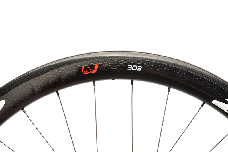Zipp 303 Firecrest Disc Carbon Tubular 700c Front Wheel cockpit
