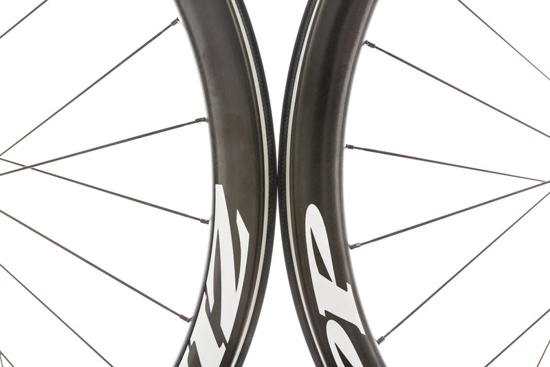 Zipp 302 Carbon Clincher 700c Wheelset front wheel