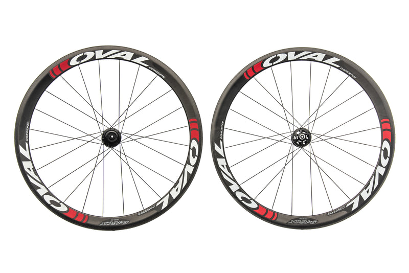 Oval Concepts 946 CX Carbon Tubular 700c Wheelset drive side