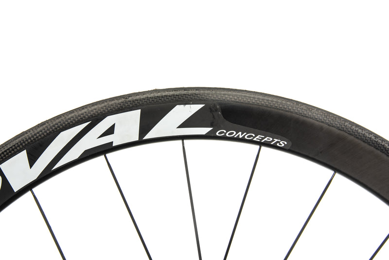 Oval Concepts 946 CX Carbon Tubular 700c Wheelset crank