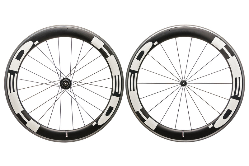 HED Jet Six Carbon Clincher 650c Wheelset drive side
