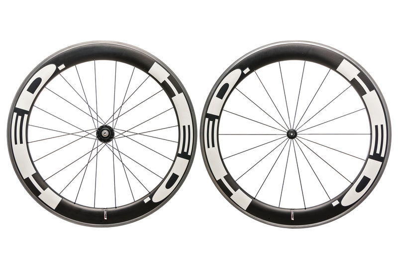 HED Jet Six Carbon Clincher 650c Wheelset non-drive side