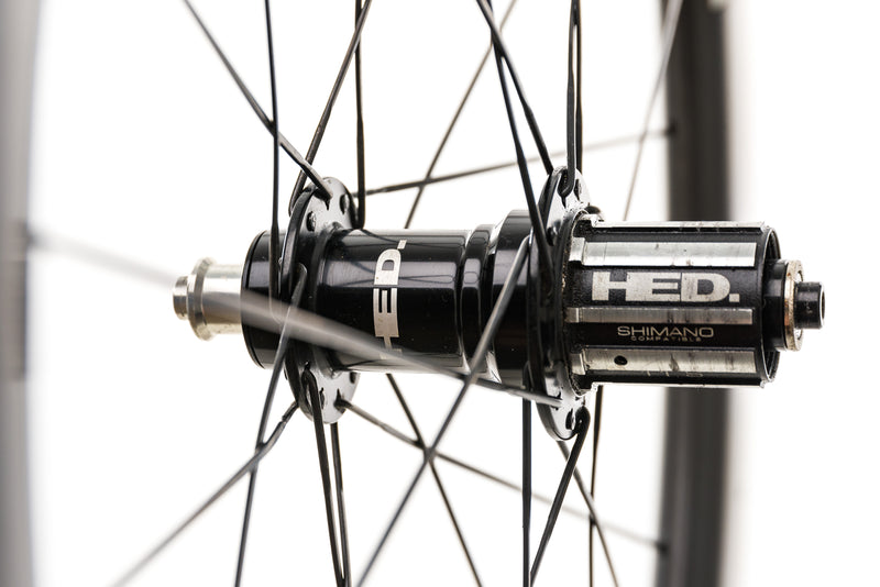 HED Jet Six Carbon Clincher 650c Wheelset sticker