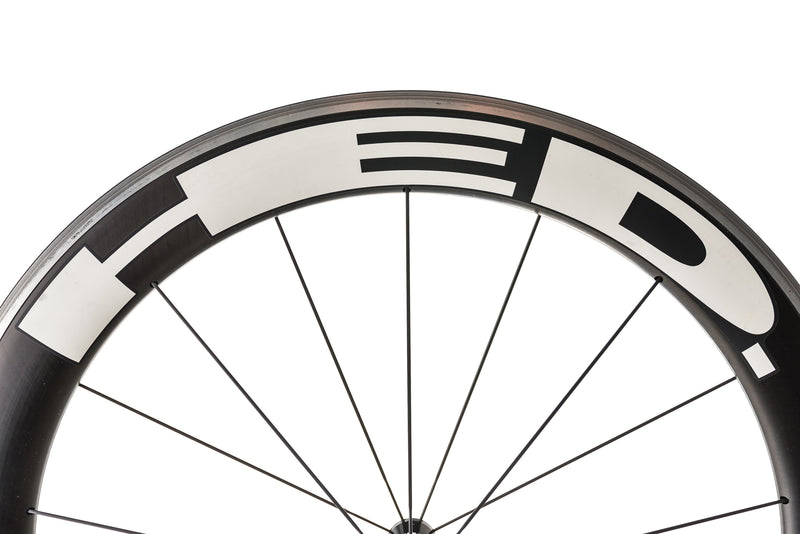 HED Jet Six Carbon Clincher 650c Wheelset cockpit
