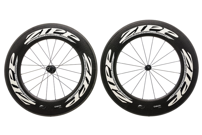 Zipp 1080 Carbon Tubular 700c Wheelset drive side