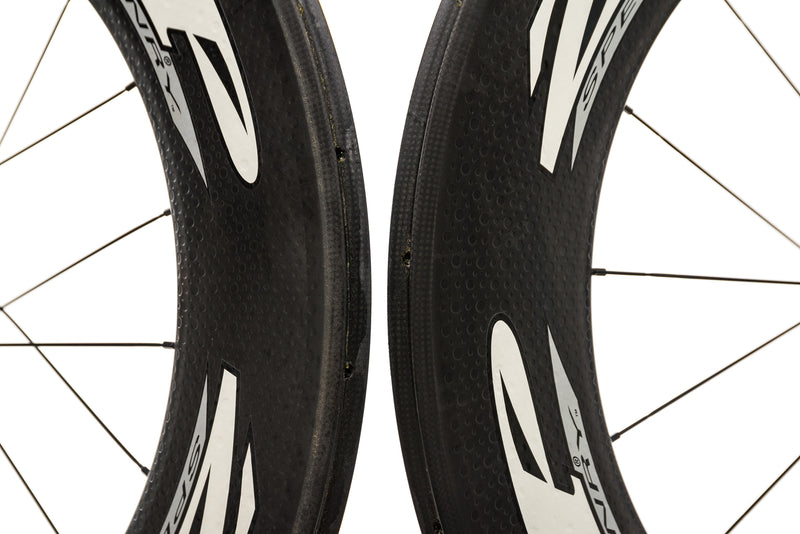 Zipp 1080 Carbon Tubular 700c Wheelset front wheel
