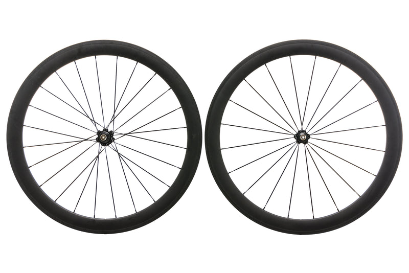 Novatec Carbon Clincher 700c Wheelset non-drive side