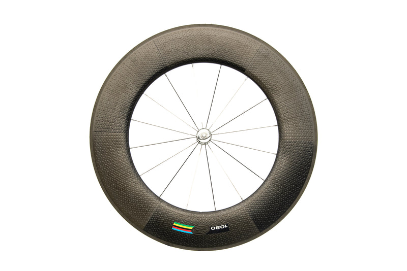 Zipp 1080 Carbon Tubular 700c Front Wheel non-drive side